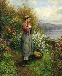 Knight_Daniel_Ridgway_Julia_on_the_Terrace_1909
