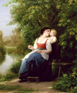 Mother-and-Son-xx-Fritz-Zuber-Buhler