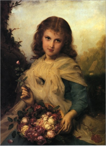 Adolphe Piot - Roses