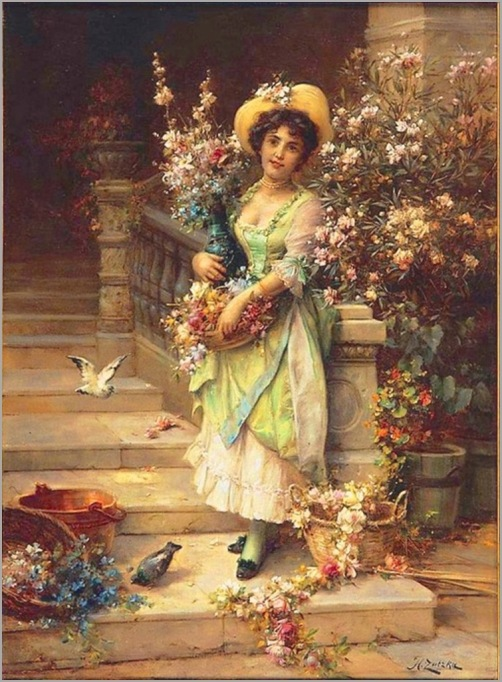 _Hans_Zatzka___The_Flower_Seller