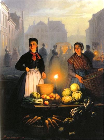 a_market_stall_by_moonlight-VanSchendel