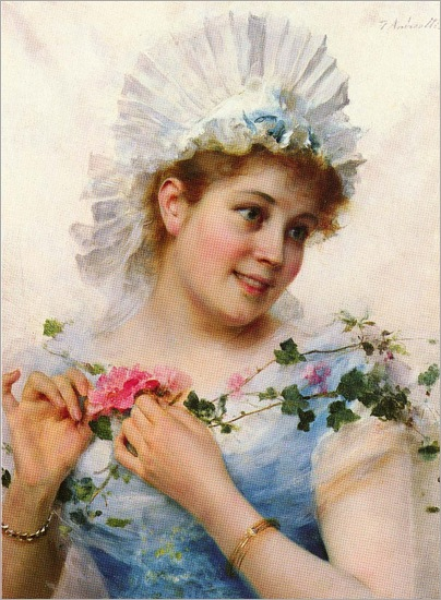 a_young_girl_with_roses-FAndreotti