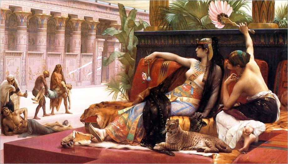 AlexandreCabanel-CleopatraTestingPoisonsonCondemnedPrisoners