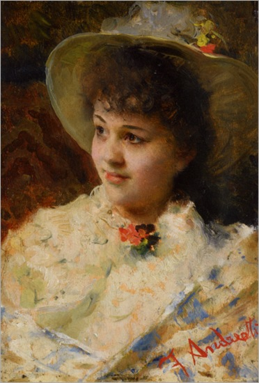 Andreotti_Federico_Girl_in_a_Straw_Hat