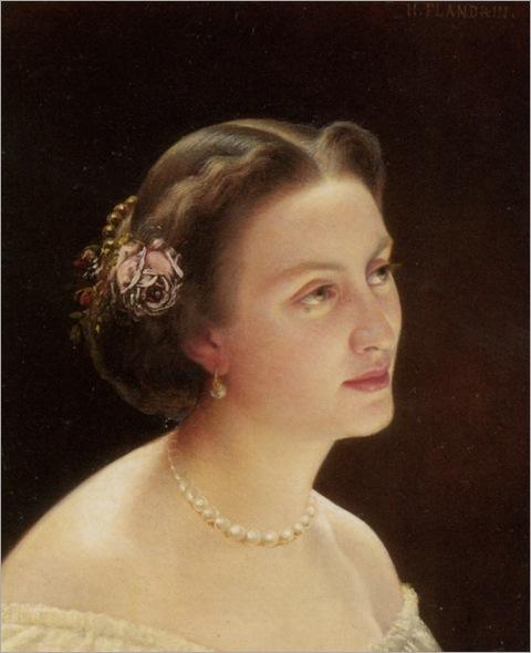 Flandrin_Hippolyte_Jean_Portrait_of_A_Lady