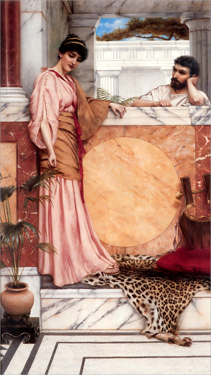 Godward_Waiting_for_an_Answer