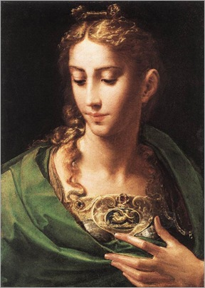 Parmigianino(1503-1540)pallas_athene