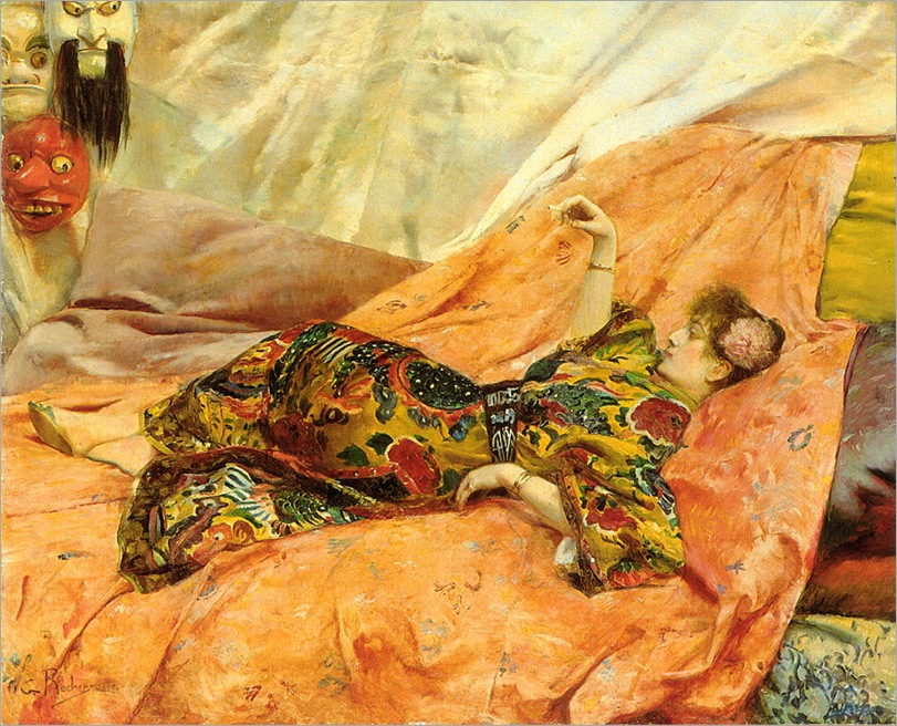 A-Portrait-of-Sarah-Bernhardt-Rochegrosse