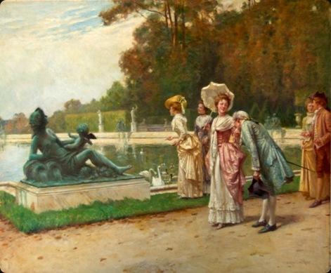 Adrien-Moreau, visit to the lake