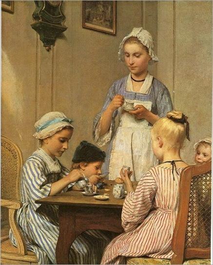 AlbertAnker_Kinderfrühstück_1879