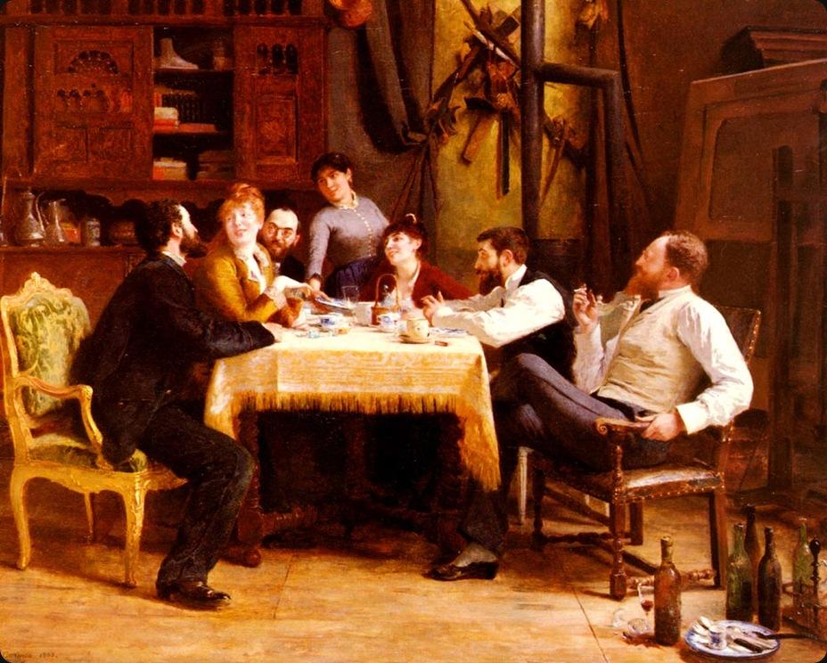 Fernand-AnnePiestreCormon(1845-1924)un_dejeuner_damis
