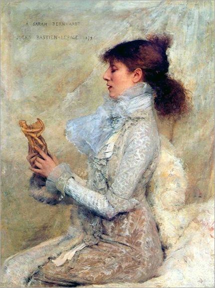 Jules-Bastien-Lepage - Sarah Bernhardt - 1879