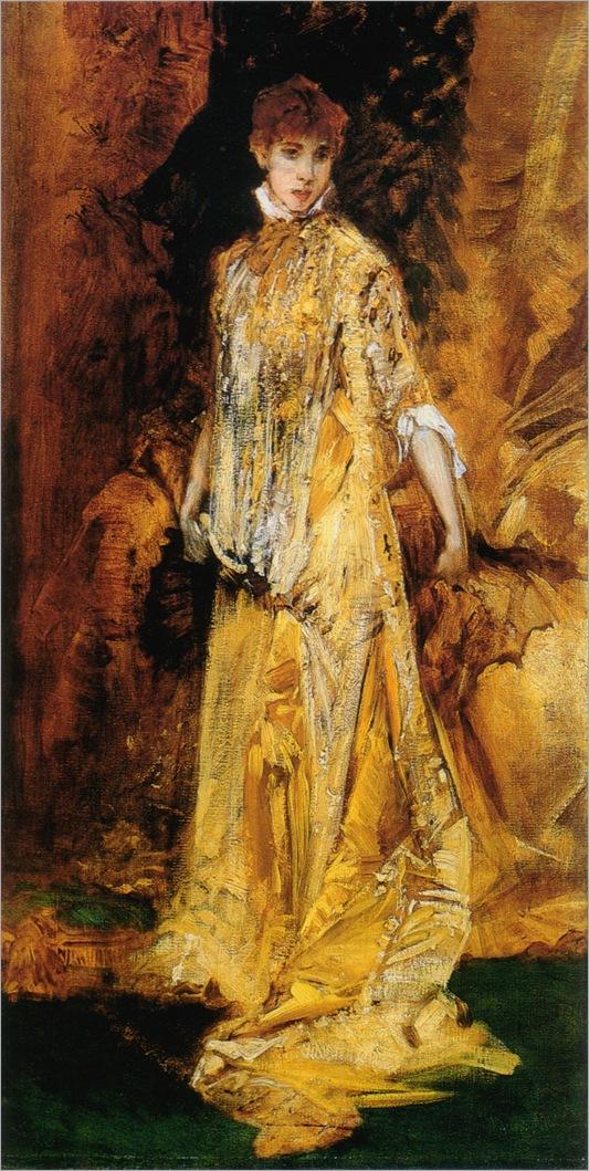 Hans Makart<br />Sarah Bernhardt<br />1881<br />96 x 53 cm<br />Salzburger Museum Carolino Augusteum