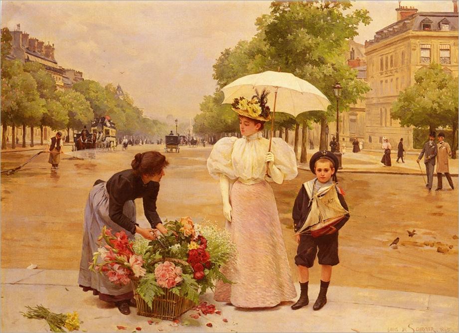 Schryver.Louis.Marie.de.L-Avenue.Des.Champs-Elysees