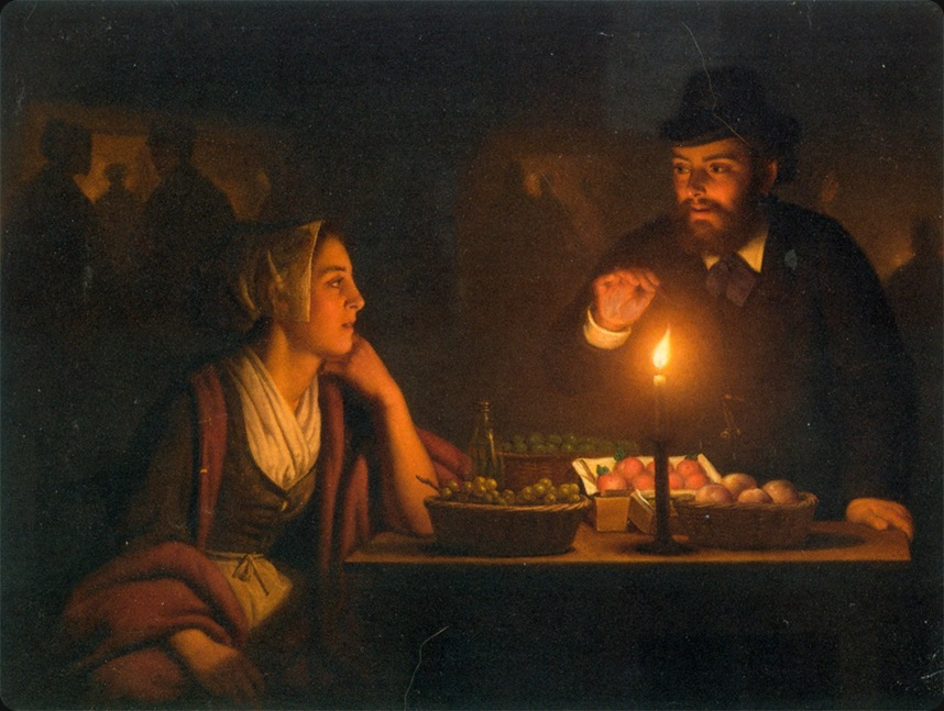 a_market_scene_by_candle_light-PVanSchendel