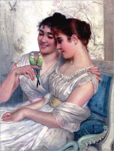 AdolpheBelimbauThe_Lovebirds