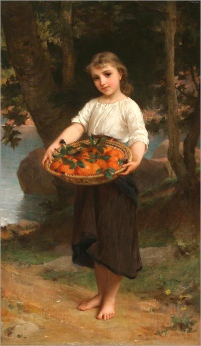 emile_munier_b1318_girl_with_basket_of_oranges