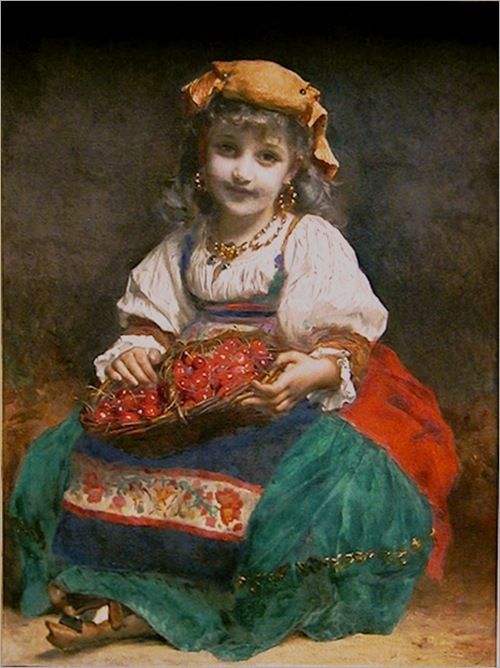 Etienne_Adolphe_Piot_18501910_Girl_with_Cherries