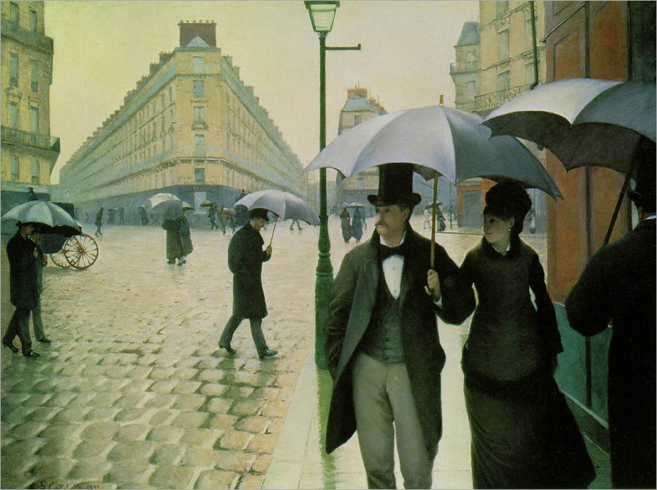GustaveCaillebotte-Paris-on-a-Rainy-Day-1877