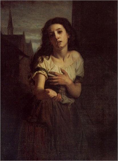 Hughes Merle - A Beggar Woman