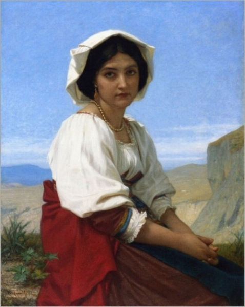 Hughes Merle - Italian Maid