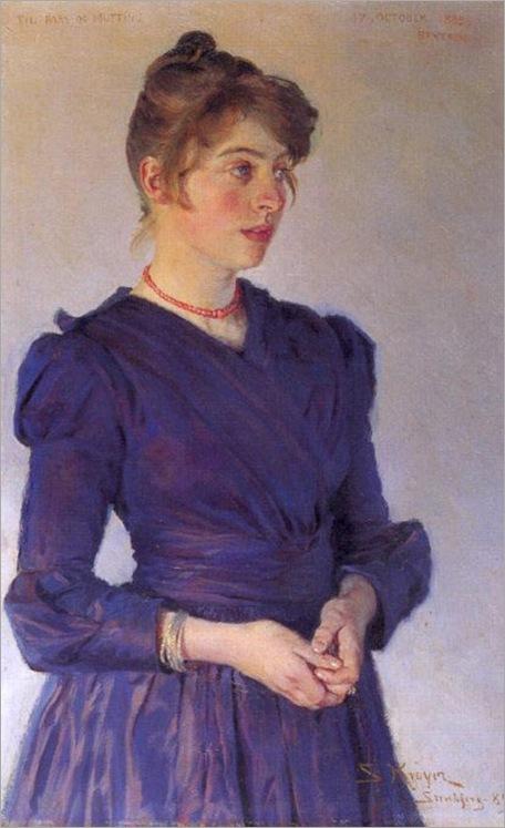 Kroyer_Peder_Severin_Marie_Kroyer_1889