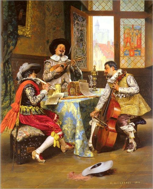 Lesrel_Adolphe_Alexandre_The_Musical_Trio
