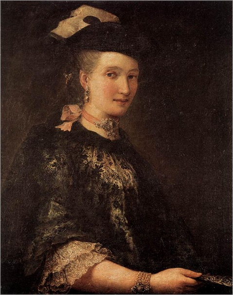 LONGHI_Alessandro_Portrait_Of_A_Lady_1770