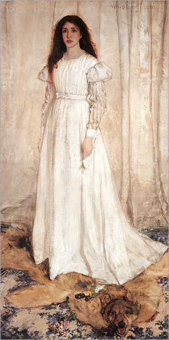 Whistler-symphony_in_white_no._1-_the_white_girl