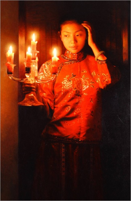Zhang_Yibo_Lady_with_Candle