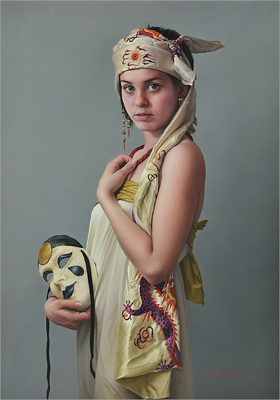 1jDuffy Sheridan__Marieke with Venetian Mask