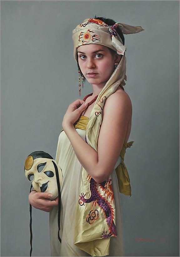 1jDuffy Sheridan__Marieke with Venetian Mask