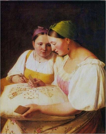 aleksei-venetsianov-fortunetelling-1842