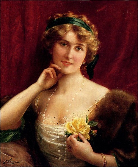 an_elegant_lady_with_a_yellow_rose-EmileVernon