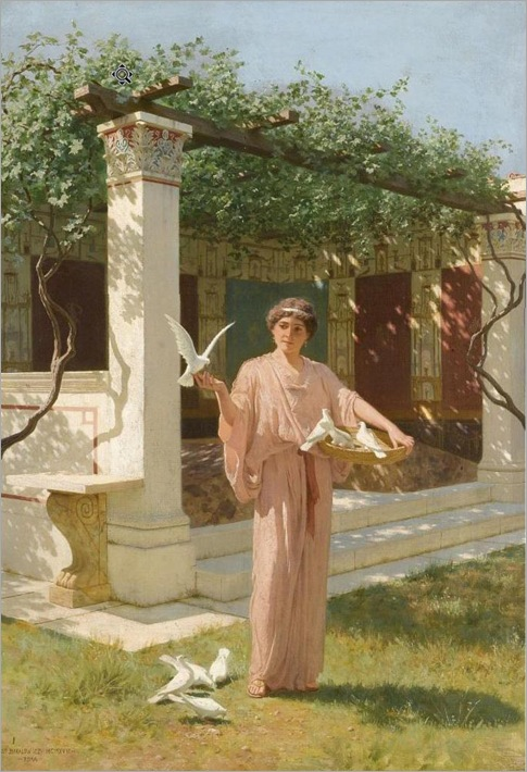 Bakalowicz-Feeding the Doves