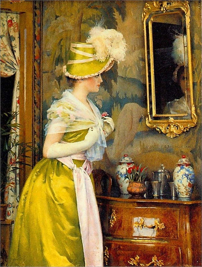 Berndtson, Gunnar    The Toilet  1889