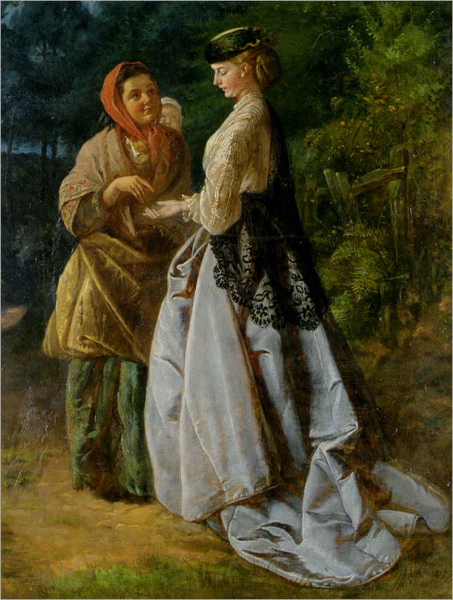 Cavell_John_Scott_Jamet_and_The_Strolling_Fortune_teller