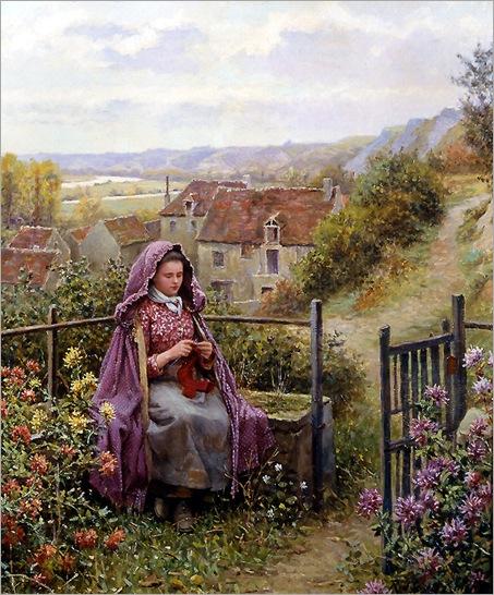 daniel_ridgway_knight_a2942_in_the_garden