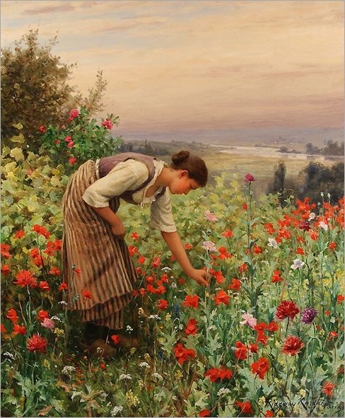 daniel_ridgway_knight_b1321_girl_picking_poppies