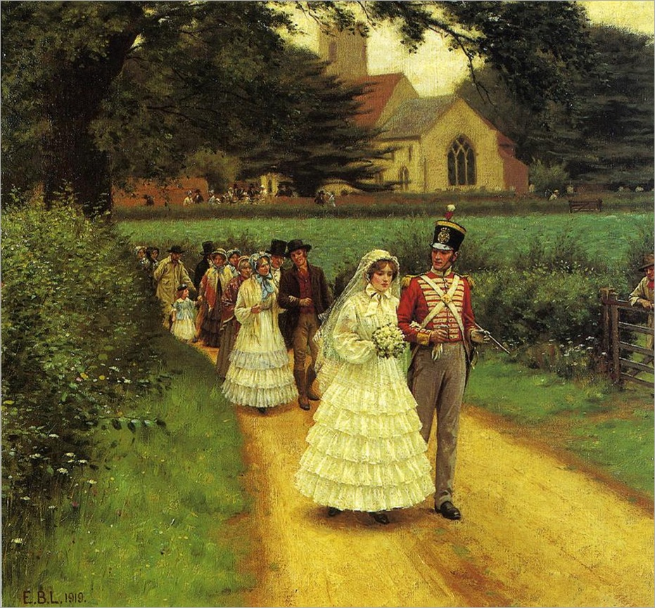 Edmund_Blair_Leighton_-_Wedding_march