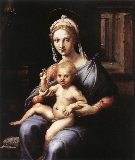 GiulioRomano(1499-1546)-madonna_and_child