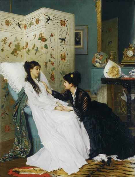 Jonghe_Gustave_de_The_Convalescent