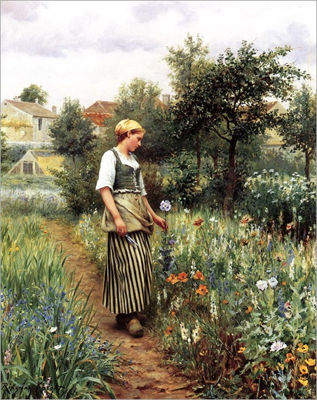 Knight_Daniel_Ridgway_In_the_Garden