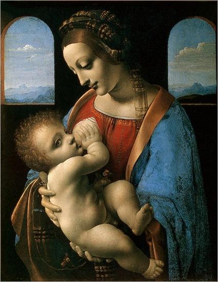 LeonardoDaVinci-madonnalitta