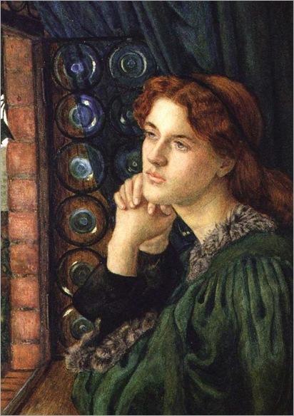 Marie Spartali Stillman Mariana,circa 1867-69
