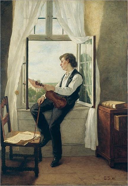 Otto-Scholderer_Violinist_1861