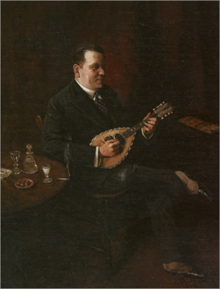 Spencelayh_Charles_The_Madolin_Player_1929