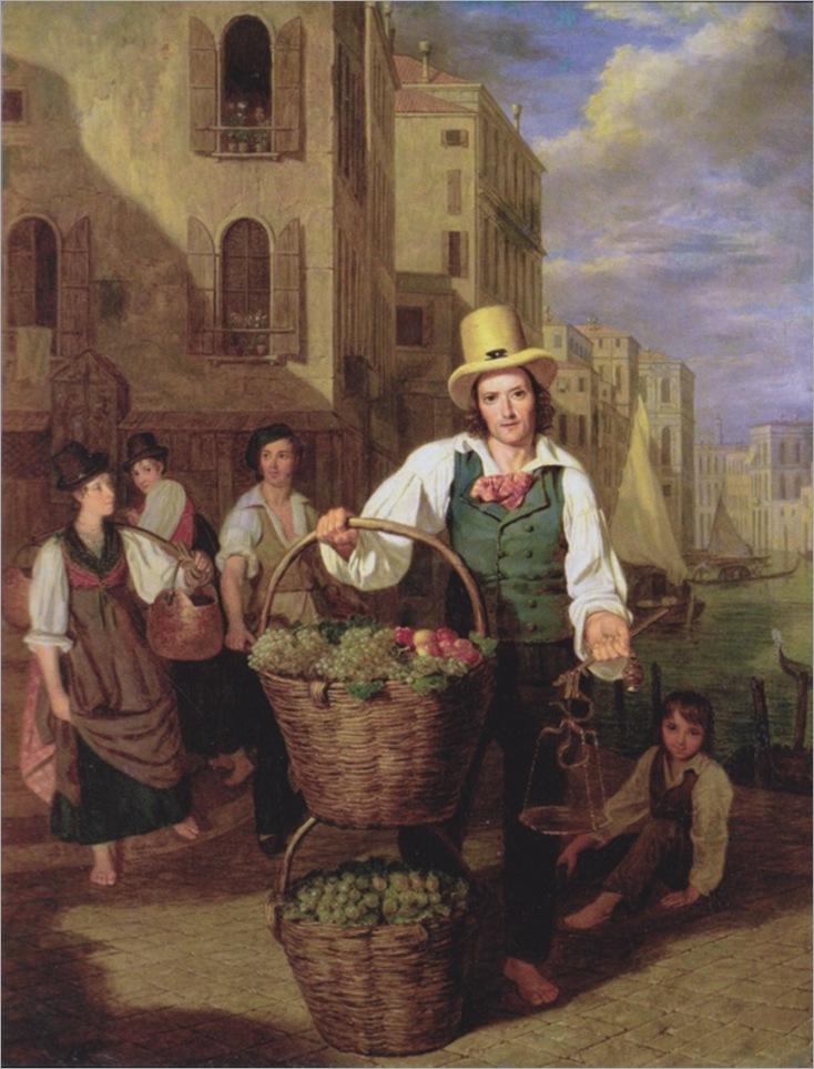 Waldmüller_-_Venezianischer_Obstverkäufer_587x768