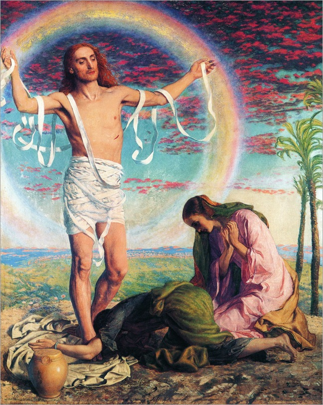 William_Holman_Hunt_-_Christ_And_The_Two_Marys
