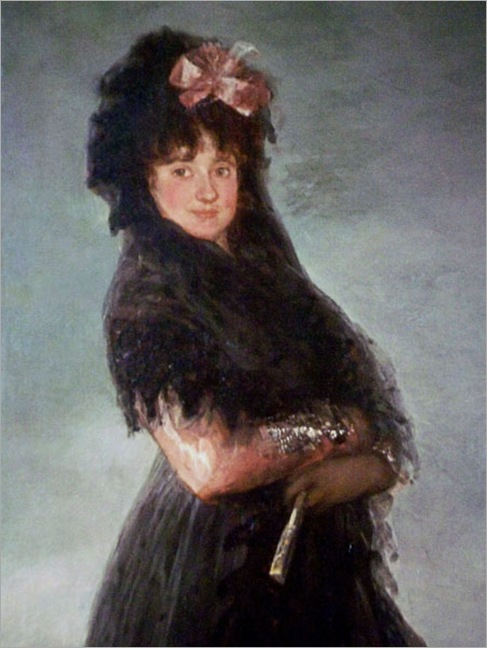 Woman with Fan-Francisco Goya
